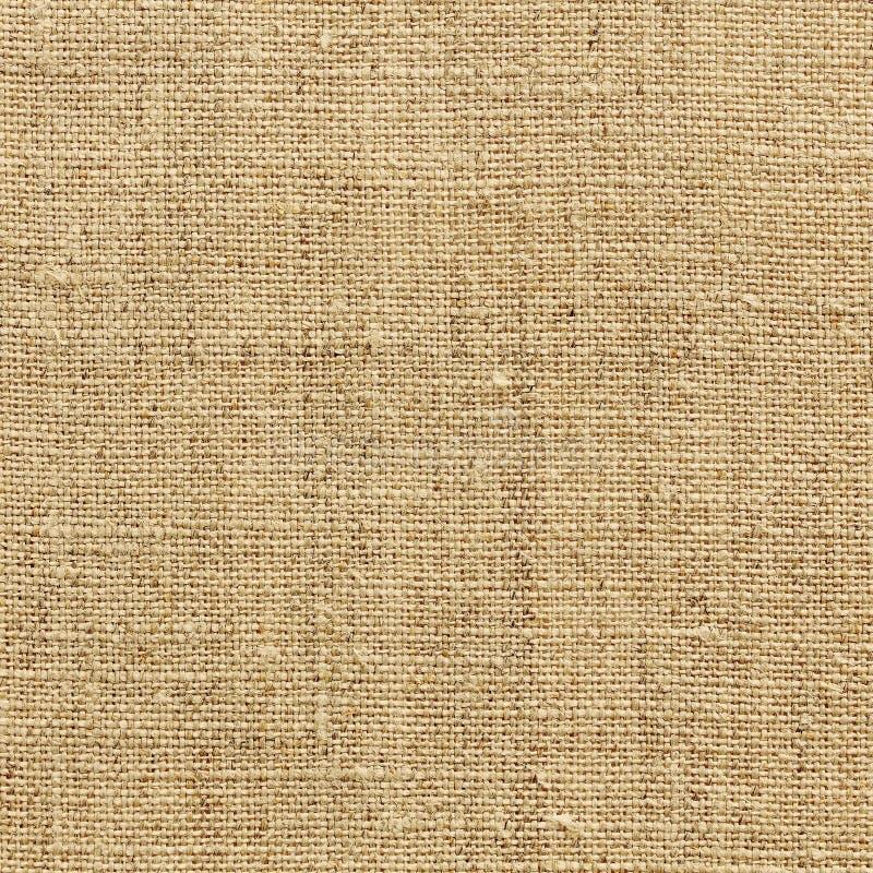 Textura de lino amarilla para el fondo imagenes de archivo