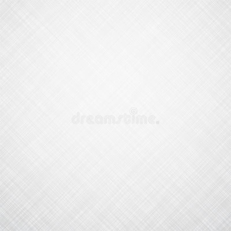 Textura de lino blanca ilustración del vector