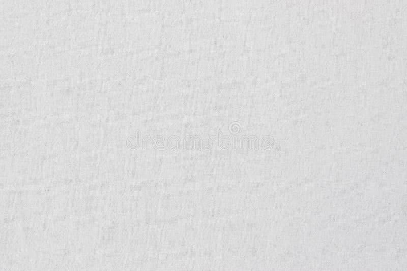 Textura de lino blanca fotografía de archivo libre de regalías
