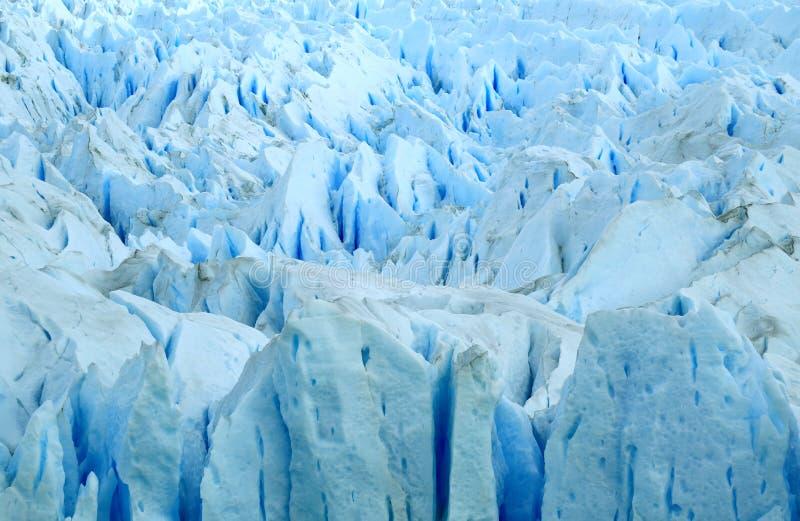 Textura de los azules claros Perito Moreno Glaciers, parque nacional del Los Glaciares, EL Calafate, la Argentina, Suramérica imagenes de archivo