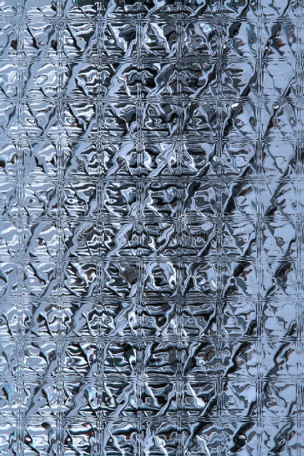 Textura de los bloques de cristal foto de archivo