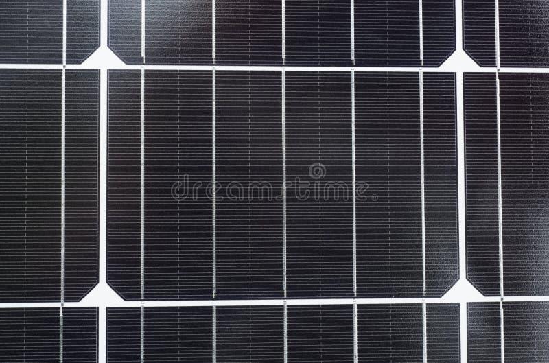 Textura de los detalles del panel solar fotografía de archivo libre de regalías