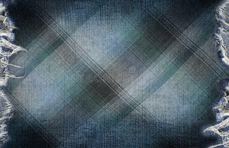 Textura de los pantalones vaqueros del dril de algodón imágenes de archivo libres de regalías