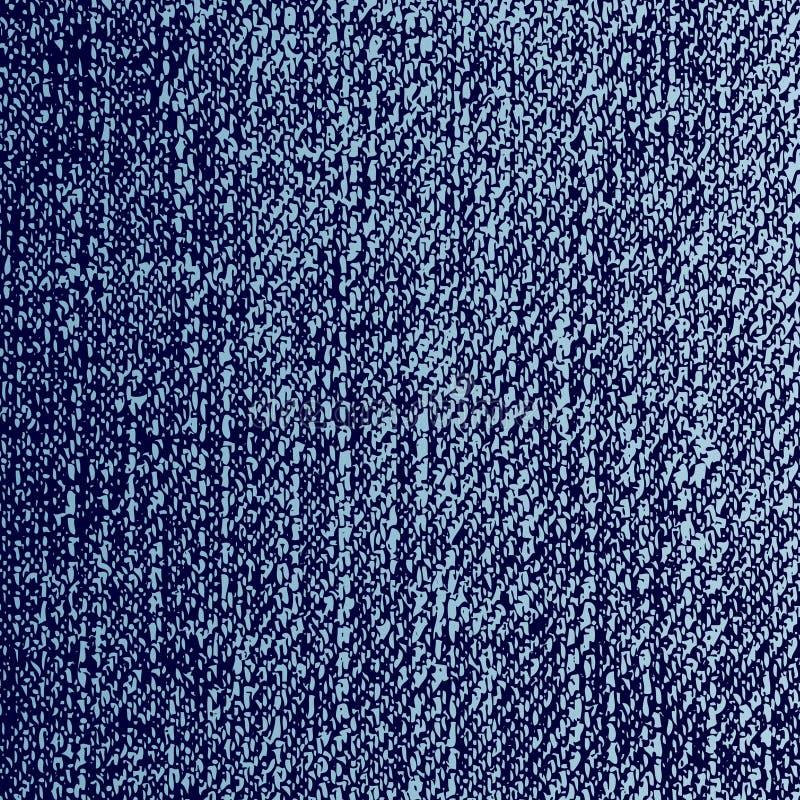 Textura de los pantalones vaqueros del vector stock de ilustración