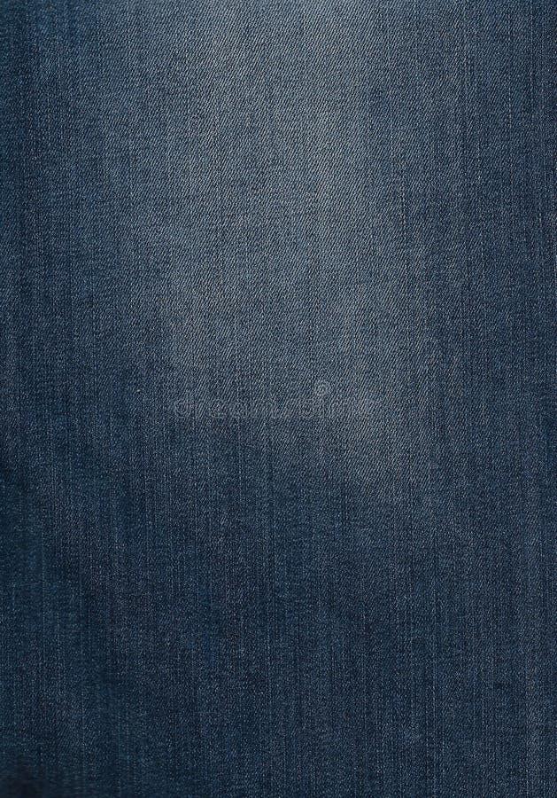 Textura de los vaqueros del dril de algodón Textura del fondo del dril de algodón para el diseño Textura del dril de algodón de l fotos de archivo libres de regalías