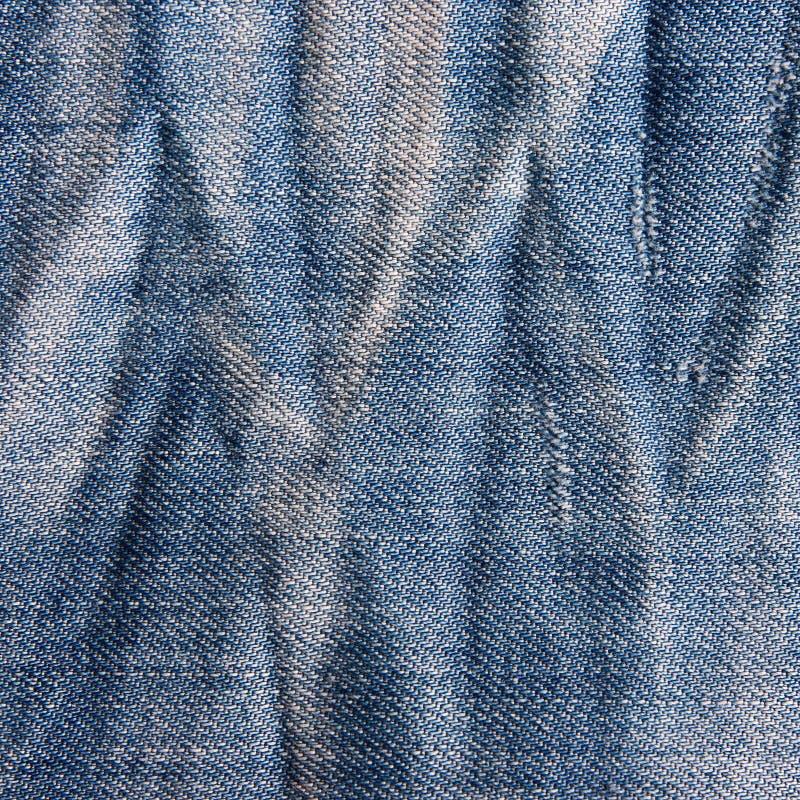 Textura de los vaqueros del vintage con rascado. imágenes de archivo libres de regalías