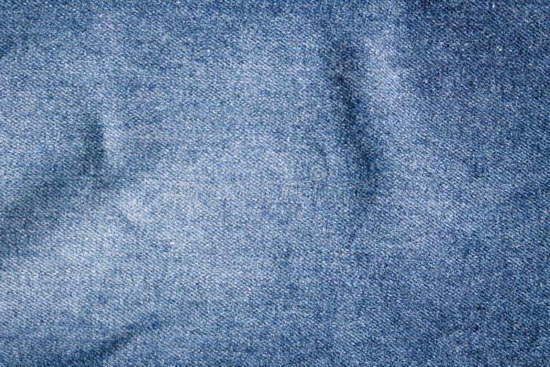 Textura de los vaqueros, tela foto de archivo