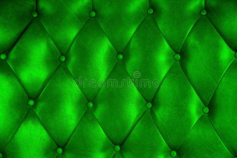 Textura de lujo de la silla del botón del cuero de la tapicería foto de archivo libre de regalías