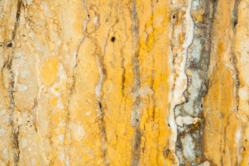 Textura de mármol amarilla Fondo natural de mármol del modelo o del extracto imagenes de archivo
