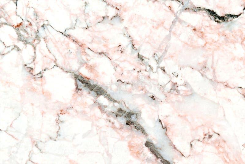 Textura de mármol blanca con el modelo natural para el trabajo de arte del fondo o del diseño fotografía de archivo