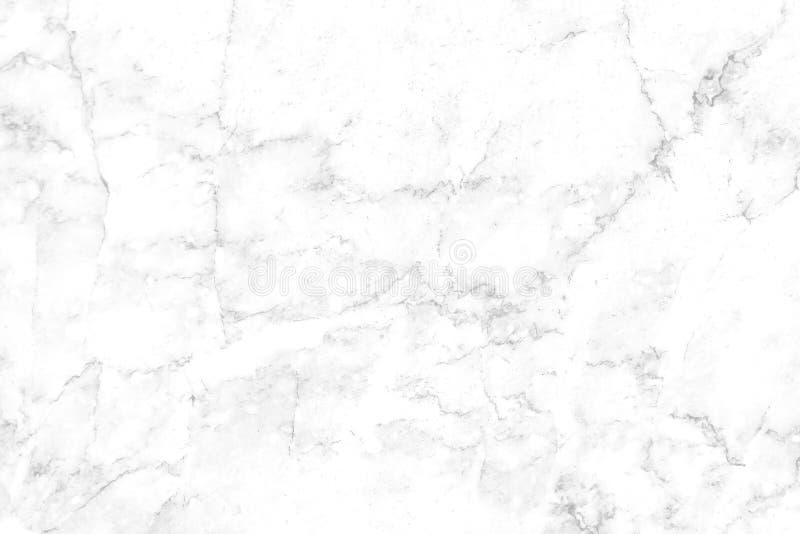 Textura de mármol blanca, gris con las venas negras y modelos inconsútiles rizados imágenes de archivo libres de regalías