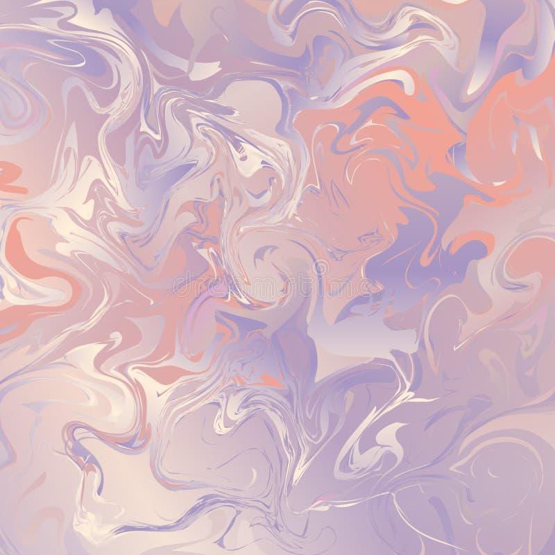 Textura de mármol en tonos rosados libre illustration