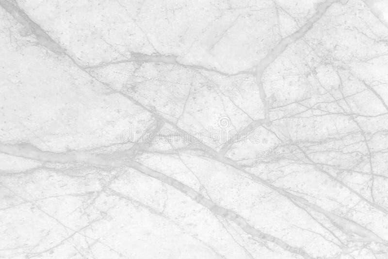 Textura de mármol gris con las venas negras y los modelos inconsútiles rizados para el fondo imagen de archivo
