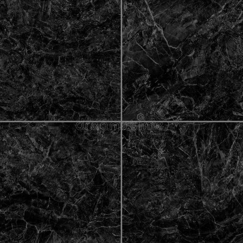 Textura de mármol negra alto res foto de archivo