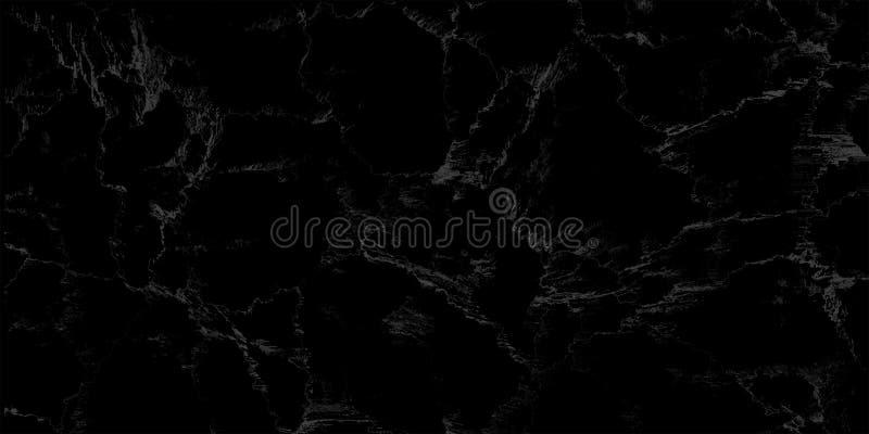 Textura de mármol negra natural para el fondo lujoso del papel pintado de la teja de la piel, para el trabajo de arte del diseño  fotografía de archivo libre de regalías