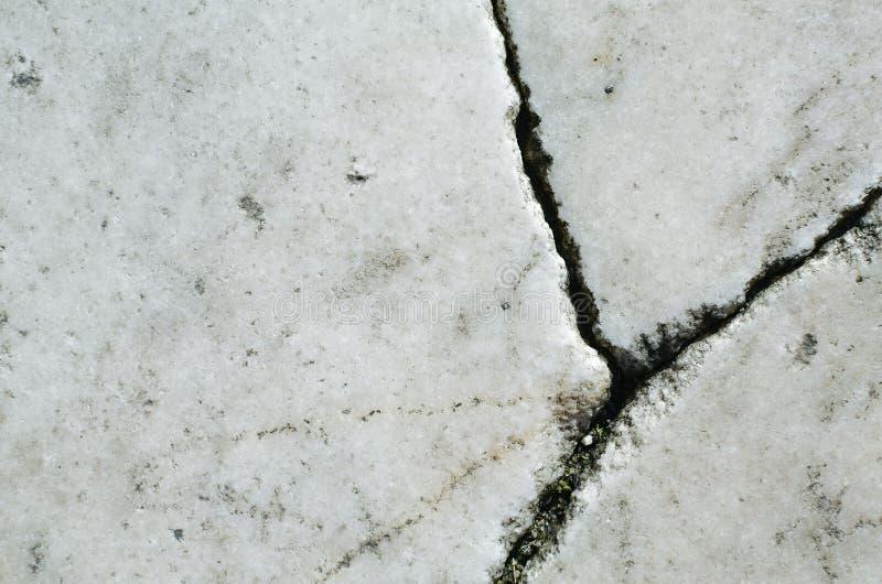 Textura de mármore branca com quebras imagens de stock royalty free