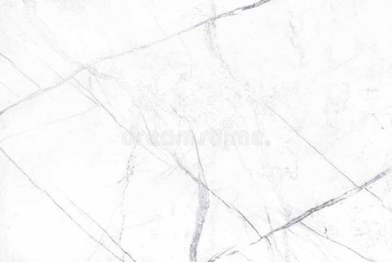 Textura de mármore branca no teste padrão natural, assoalho de pedra branco foto de stock