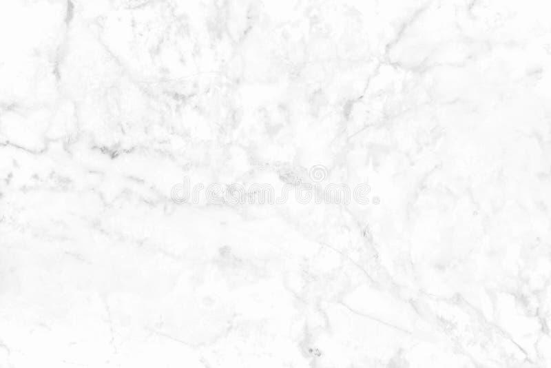 Textura de mármore branca no teste padrão natural com alta resolução Assoalho de pedra das telhas fotografia de stock royalty free