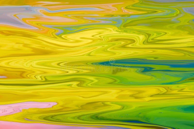 Textura de mármore colorida da onda bonita foto de stock royalty free