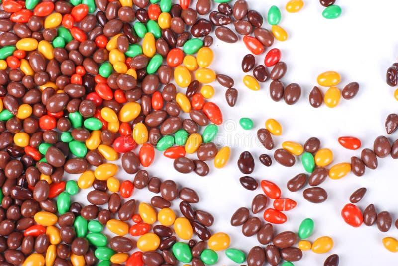 Textura de mármore do chocolate fotografia de stock