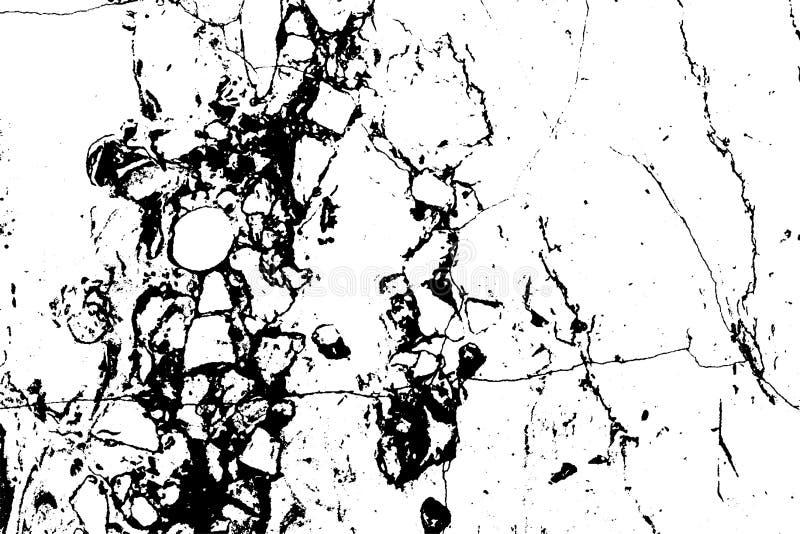 Textura de mármore preta do grunge do vetor da folha de prova ilustração do vetor