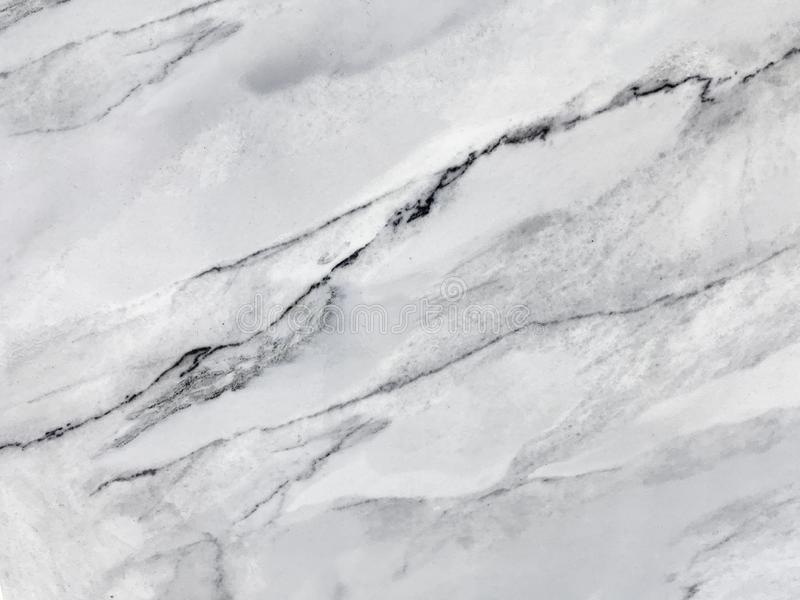 Textura de m?rmore branca com teste padr?o natural Fundo de pedra cinzento imagens de stock royalty free