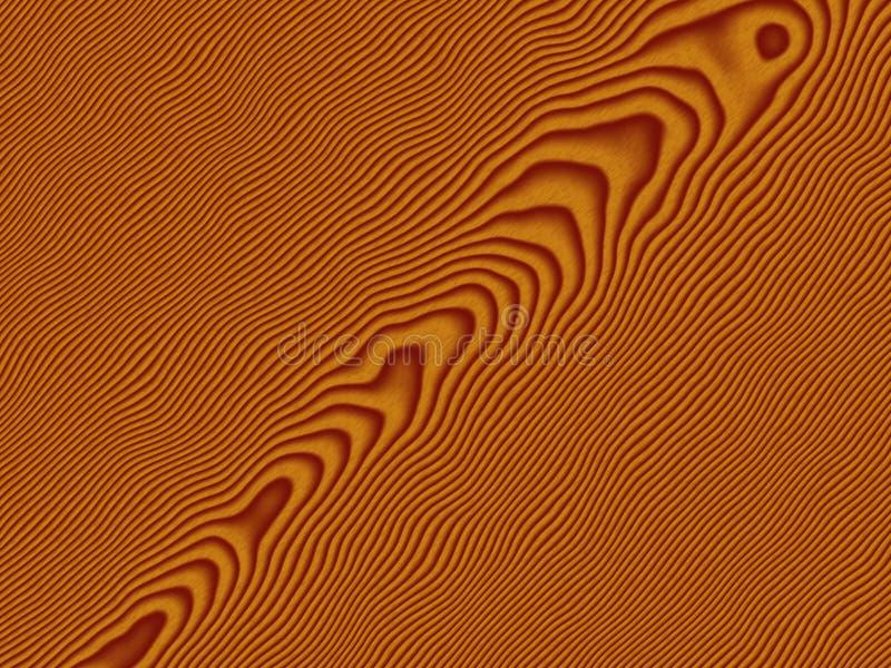 Textura de madeira ilustração stock