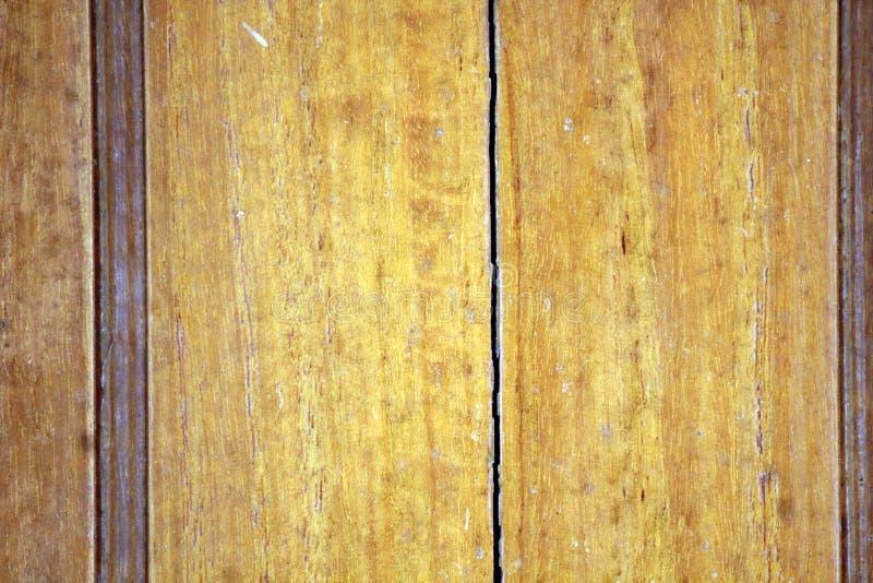 Textura de madeira amarela com detalhes imagem de stock royalty free