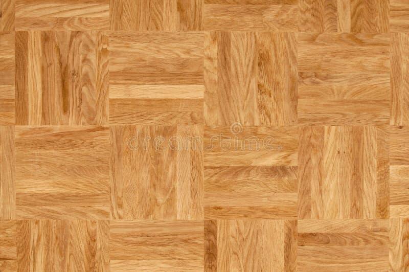Textura de madeira - assoalho de parquet do carvalho fotografia de stock royalty free