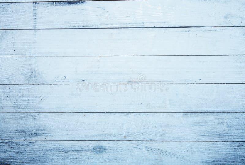 Textura de madeira azul do fundo do vintage connosco e furos de prego Madeira pintada velha Fundo abstrato azul imagem de stock