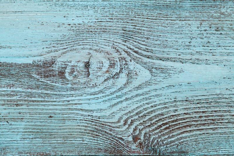 Textura de madeira azul, fundo do vintage fotografia de stock