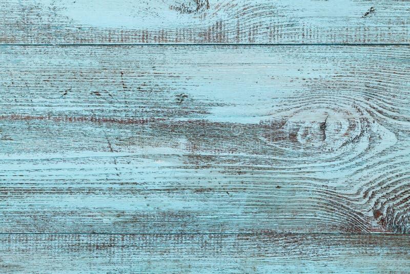 Textura de madeira azul, fundo do vintage fotos de stock royalty free