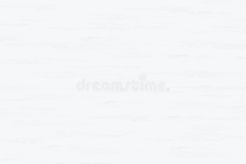 Textura de madeira branca da prancha para o fundo Vetor ilustração do vetor