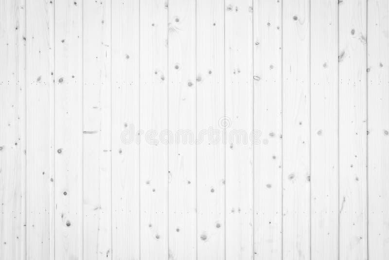 Textura de madeira branca do fundo da parede, fim acima do assoalho de madeira imagem de stock royalty free