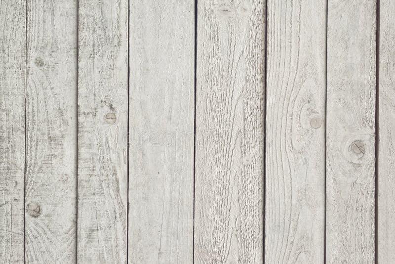 Textura de madeira branca do teste padrão das pranchas fotos de stock