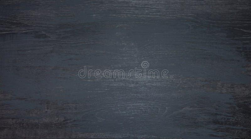 Textura de madeira cinzenta escura panorâmico do runge perto acima foto de stock royalty free