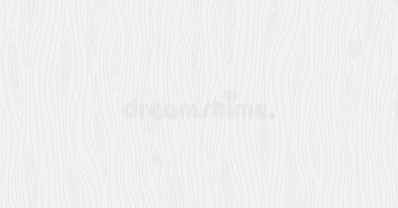 Textura de madeira clara Fundo da madeira do vetor ilustração do vetor