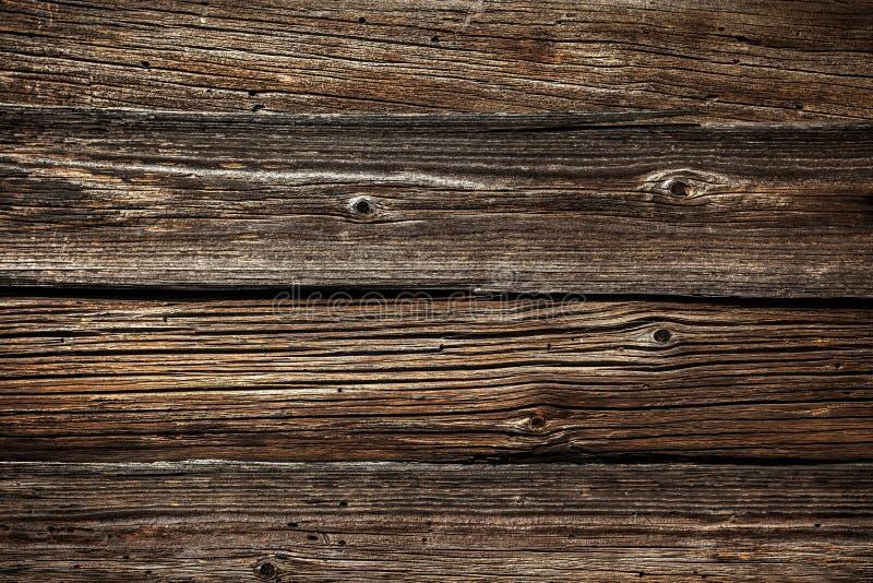 Textura de madeira com teste padrão natural pinho Velha, a cor é marrom fotografia de stock royalty free