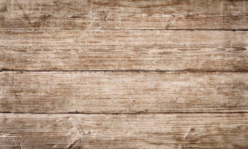 A textura de madeira da grão da prancha, placa de madeira listrou a fibra velha fotografia de stock royalty free