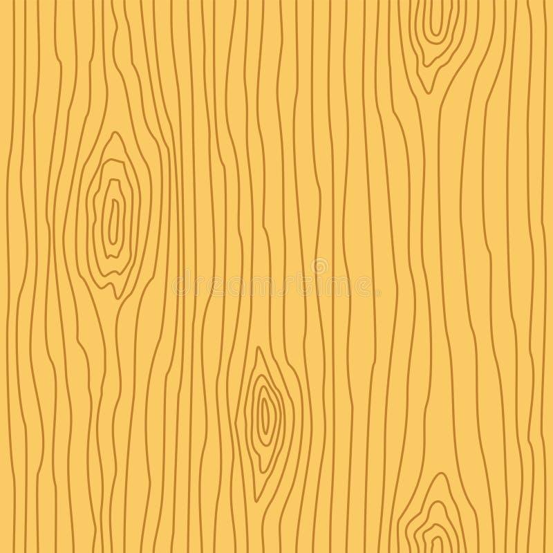 Textura de madeira da grão Teste padrão de madeira sem emenda Linha abstrata fundo ilustração royalty free