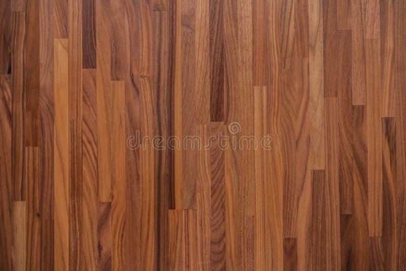 Textura de madeira da tabela da noz fotos de stock