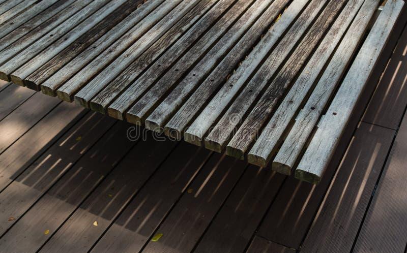 Textura de madeira da tabela e do assoalho da cor do cinza imagens de stock