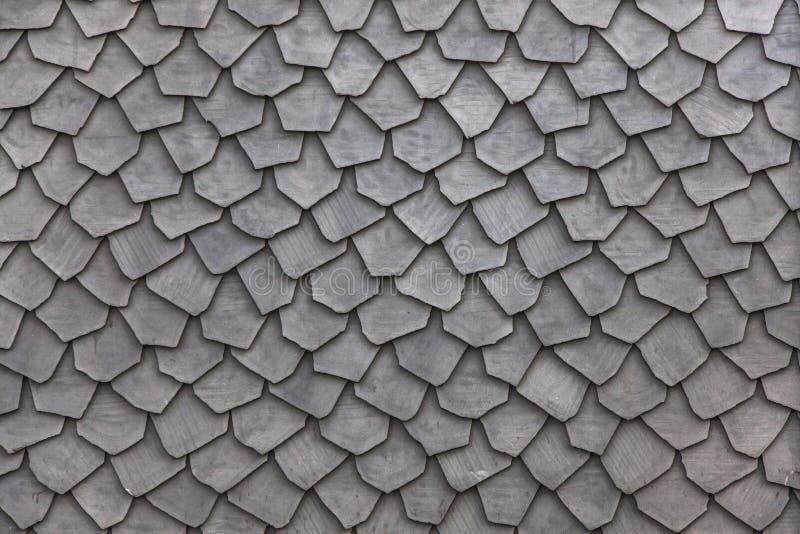Textura de madeira das telhas de telhado fotos de stock