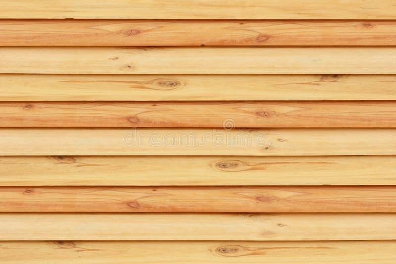 Textura de madeira do browne da prancha da parede imagens de stock
