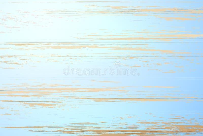 Textura de madeira do fundo do assoalho da prancha do vintage do vetor ilustração stock