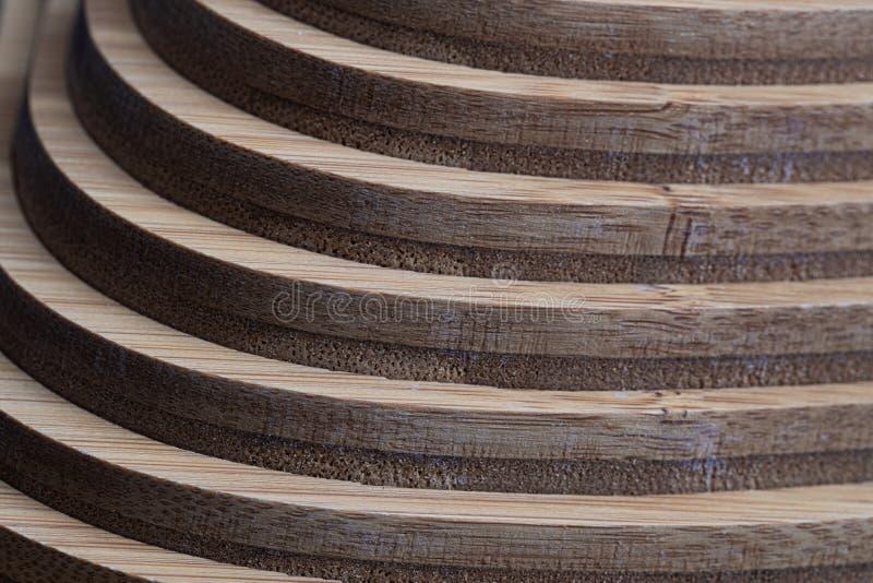 Textura de madeira do fundo da decoração da geometria da parede imagem de stock