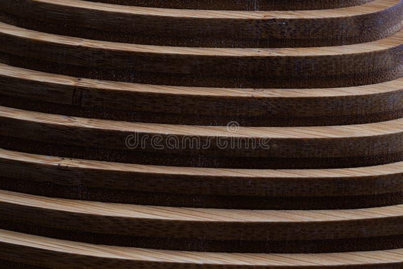 Textura de madeira do fundo da decoração da geometria da parede imagens de stock royalty free