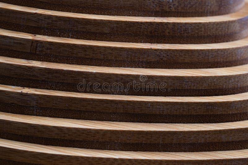 Textura de madeira do fundo da decoração da geometria da parede fotografia de stock royalty free