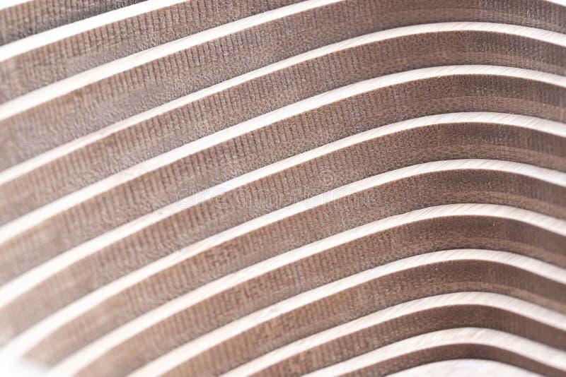 Textura de madeira do fundo da decoração da geometria da parede fotografia de stock