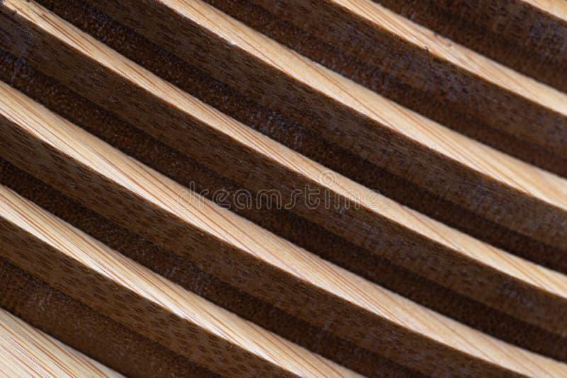 Textura de madeira do fundo da decoração da geometria da parede fotos de stock royalty free
